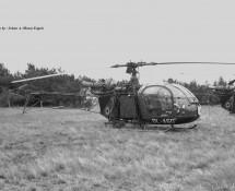 Alouette II Belg.LM OL-A60 Keiheuvel 29-8-1971 J.A.Engels