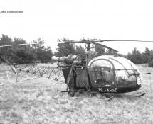 Alouette II Belg.LM OL-A68 Keiheuvel 29-8-1971 J.A.Engels
