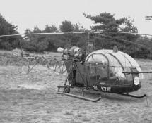 Alouette II Belg.LM OL-A76 Keiheuvel 29-8-1971 J.A.Engels