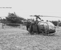 Alouette II Belg.LM OL-A64 Keiheuvel 29-8-1971 J.A.Engels