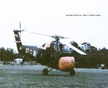 Sikorsky S-58 Belg.LM OT-ZKK Keiheuvel 29-8-1971 J.A.Engels