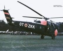 Sikorsky S-58 Belg.LM OT-ZKK(2) Keiheuvel 29-8-1971 J.A.Engels