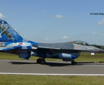 24. F-16 FA110 (very small on fin) in 70 years livery(FK)