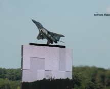 30. Mig 67 on the t.v. screen and in real life (FK)