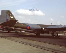 Canberra T.17 WJ630(ED) RAF 360 sq. Gr.Common, U.K., 23-7-1983 J.A.Engels