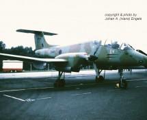 F.M.A. IA58 Pucara ZD485 RAF (ex Argentijnse LM) Gr.Common 23-7-83 J.A.Engels