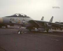 Grumman F-14 Tomcat 161440 U.S.Navy Gr.Common , U.K. 23-7-83 J.A.Engels