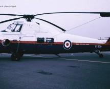 Westland Wessex  XS509 RAF ETPS Greenham Common , U.K. 23-7-1983 J.A.Engels