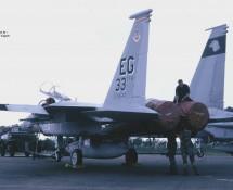 F-15C 85-118 EG (USAF 33 FW C.O.a.c.) Soesterberg 6-6-1990 J.A.Engels