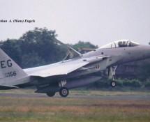 F-15C 86-156 EG (33 FW USAF ) Soesterberg 6-6-1990  J.A.Engels