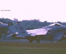 F-15C 86-166 EG (USAF 33FW) Soesterberg 6-6-1990 J.A.Engels