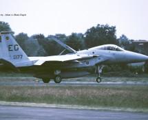 F-15C 86-177 EG (USAF 33 FW) Soesterberg 6-6-1990 J.A.Engels