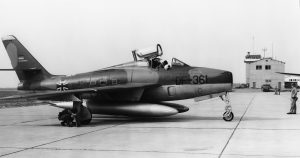 German F-84@ Etain AB