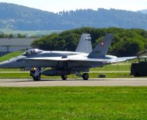 F-18, Payerne September 2017 (FK)