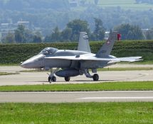 F-18 Payerne September  2017 (FK)