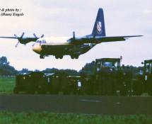 C-130 Hercules USN demoteam Blue Angels Leeuwarden 16-6-2006 J.A.Engels