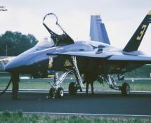 F-18 Hornet USN Blue Angels 3 Leeuwarden 16-6-2006 J.A.Engels