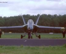 F-18 Hornet USN Blue Angels Leeuwarden 16-6-2006 J.A.Engels