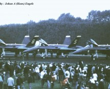F-18 Hornet USN Blue Angels-demoteam Leeuwarden 16-6-2006 J.A.Engels