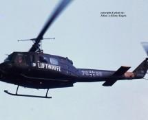 Bell UH-1 70+99 Duitse Luftwaffe(2) Florennes 23-6-1979 J.A.Engels