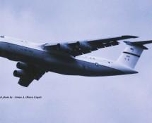 Lockheed C-5 Galaxy 90018 USAF Florennes 23-6-1979 J.A.Engels