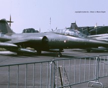 Lockheed-Canadair CF-104D Starfighter RT-662 Deense LM ESK 726 Florennes 23-6-1979 J.A.Engels