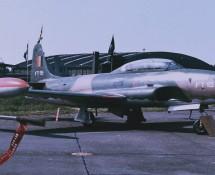 Lockheed T-33 FT-15 Belg.LM Florennes 23-6-1979 J.A.Engels
