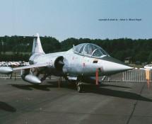 Lockheed TF-104G Starfighter 627 Noorse LM 331SKV Florennes 23-6-1979 J.A.Engels