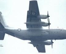 C-130 A97-190 Australische LM Scheveningen (manna voedseldropping)30-4-1985 J.A.Engels