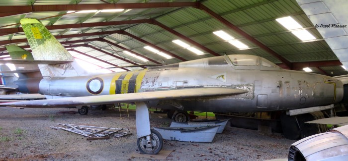 Belgian Thunderstreaks: Aircraft Out of Service