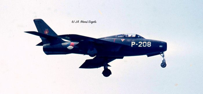 THUNDERSTREAKS of the K.Lu/ Royal Netherlands Air Force (in active service)