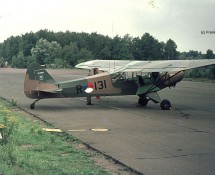 Piper R-131 at Deelen in 1974 (FK)