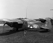 R-151 at Deelen in 1970 during the Royal Flush (FK)