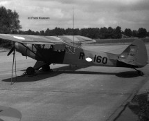 R-160 at Deelen in 1974 (FK)