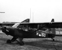 R-160 at Deelen OD in 1971 (FK)