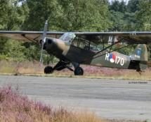 R-170 at a recent warbird Fly-In at  Malle (FK)