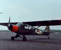 Piper R-171 at Gilze Rijen in 1971 (FK)