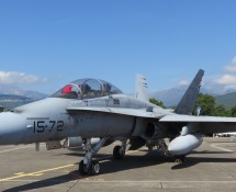 EF-18BM Hornet Spanish AF  from ALA-15 AT Zaragoza (FK)