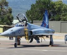 F-5E Tiger J-3038 of 19sq Swiss AF Payerne (FK)