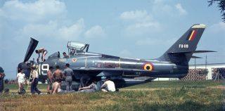 Belgian Thunderstreaks: Period of Active Service