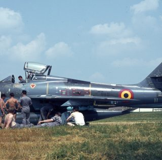 Belgian Thunderstreaks: Period of Active Service
