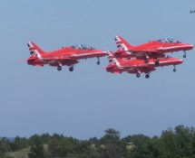 Red Arrows in take-off (FK)