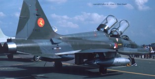 K-4020 at RAF Greenham Common , U.K. in 1983 (HE)