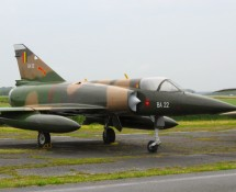 Mirage 5BA, Florennes June 2016 (FK)