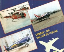 brochure-cover Air Show Scheveningen June 1991 (coll.J.A.Engels)