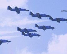Patrulla Aguila (CASA Aviojet) (HE)