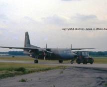 Fokker F-27 C-10 K.Lu. Soesterberg 6-6-1990 J.A.Engels ct100 29a-30  -res.
