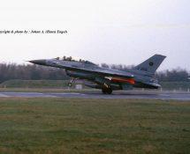 F-16B  , 323 squadron(HE)