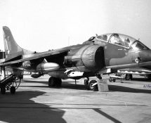 Harrier T.4 XZ145-T no 3 sqn RAF