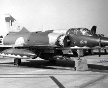 Mirage 5BR BR10 of 42sqn BAF